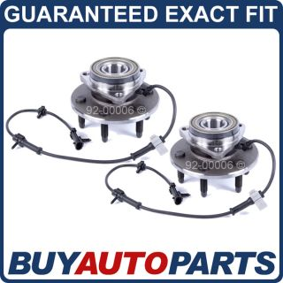 Pair Chevy 1500 Truck Front Wheel Hub Bearings 99 07