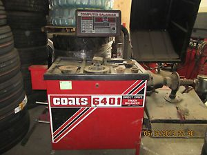 Coats 6401 Direct Drive Truck Tire Balancer Works Perfectly