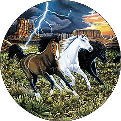 Horse 20 Custom Spare Tire Cover Wheel Cover