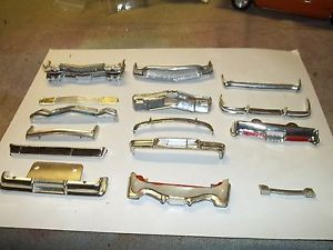1 25 Scale Model Car Parts Grille and Bumper Lot