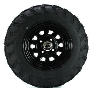 11 Honda TRX420FA Rancher at ITP Mud Lite at Rear Tire Wheel Kit 25x10 12