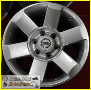 "04 05 06 07 08 Nissan Titan Armada 18"" Silver Wheels Used Rims Set 62439"
