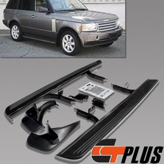 2003 2010 Land Range Rover HSE Sport Aluminum Running Board Side Step Bars L322