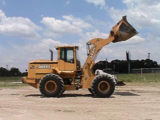 1999 John Deere 644H High Lift Wheel Loader