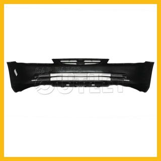 2001 2002 Accord Sedan Front Bumper Primered Black Plastic Capa Certified Cover