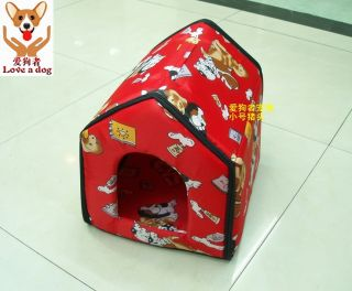 New Indoor Pet Dog Cat House Tent Collapsible SM Size