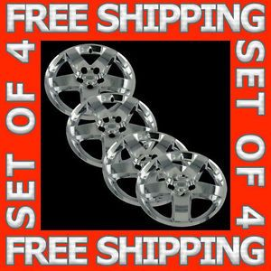 "Dodge Charger Magnum 17"" Chrome Wheel Skin Hubcaps Covers Hub Caps Set Free SHIP"