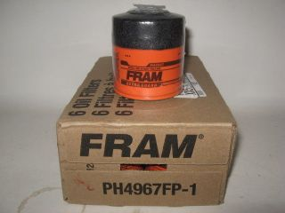 John Deere Gator Fram PH4967 FP Oil Filter Case 6 Six Fits AM107423