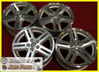 "08 09 10 Dodge Avenger 17"" Machined Silver Take Off Wheels Factory Rims 2308"