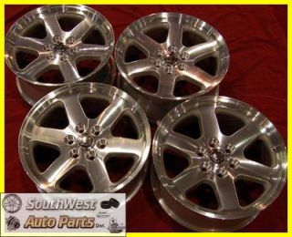 "08 11 Escalade ESV Ext 20"" Machined Silver Wheels Factory Take Off Rims"