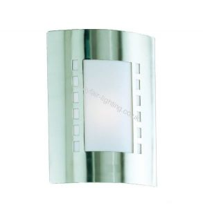 Milan Stainless Steel Outdoor Wall Light Bulb