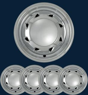 "'94 02 Chevy Blazer S10 15"" Chrome Wheel Skins Hubcaps"