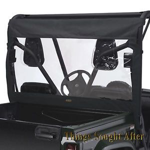 Rear Window for Yamaha Rhino 450 Sport Utility Vehicle UTV Windshield Black