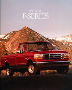1995 Ford F Series Pickup Truck Sales Brochure Catalog F 150 F150