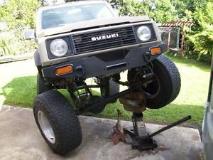 Suzuki Samurai Jeep YJ Swap Conversion Suspension Lift Kit