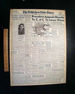 ANA Cumpanas Anna Sage Woman in Red John Dillinger's Rat Death in 1947 Newspaper