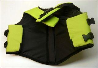 New Ruff Wear Portage Float Coat Fern Green Dog Medium M Life Jacket Preserver