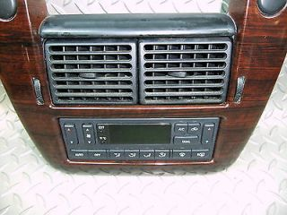 02 05 Explorer Dash Radio Trim Bezel Surround Auto Heater A C Temp Controller OE