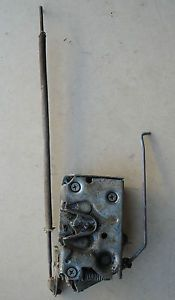 73 79 Ford Truck 78 79 Bronco Right Side Door Latch with Rods Mounting Screws