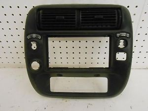 Instrument Panel Center Cover Radio Heater Control Bezel Trim Ford Explorer 2000