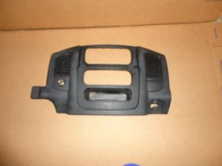 02 05 Dodge RAM Dash Radio Bezel w Vents Slate
