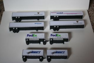 Lot 1 87 Scale Semi Truck Trailers