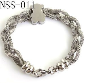 Womens Stainless Steel Jewelry Bracelet