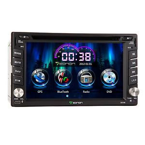 "6 2"" Nissan in Dash 2Din Car GPS Navigation DVD Player Touch Bluetooth iPod Map"