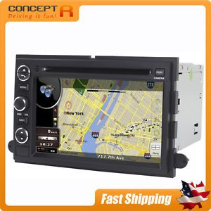 Ford in Dash GPS Navigation Radio DVD Touch Screen Bluetooth Sirius Satellite CD
