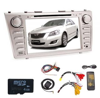 "HD 8"" Touch Screen 2Din Car DVD Player for Camry Aurion GPS Nav TV Bluetooth FM"
