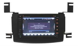 2007 2010 Nissan Rogue GPS Navigation System Radio iPod Bluetooth LCD Ready