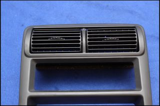 01 02 03 04 Ford Mustang Dark Charcoal Radio AC Vent Bezel Dash Double DIN
