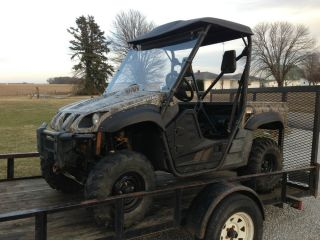 06 Yamaha Rhino 660 4x4 Side by Side Needs Engine Motor Work Repo  UTV