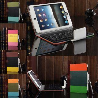 Aluminum Bluetooth Keyboard Stand Case Cover for New Apple iPad 5 5th iPad Air