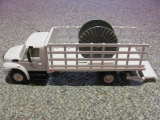 Florida Power Light Co FPL 1 24 Scale Stake Bed Utility Truck
