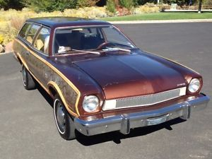 1974 Ford Pinto Squire Wagon 2 Door 2 3L Low Miles Solid Clean Car
