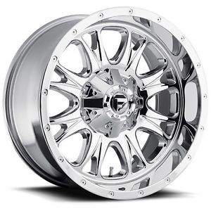 17 inch 17x9 Fuel Throttle Chrome Wheel Rim 6x135 Lifted F150 Expedition