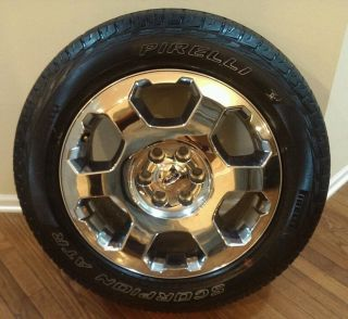 "1 Ford F150 Expedition 20"" Chrome Clad Factory Wheel Rim and Tire"