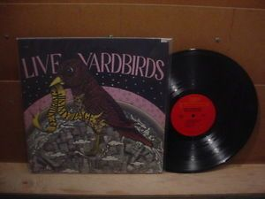 1976 The Live Yardbirds Featuring Jimmy Page Columbia Special Products