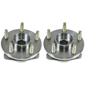 06 08 Chevy HHR 5 Lug Front Wheel Hub Bearing Pair Set