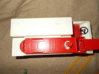Vintage Fisher Price Adventure People Rescue Fire Truck and Accessories 1974
