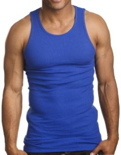 9 Top Quality 100 Cotton Men's Workout Wife Beater Tank Top Undershirt Vest