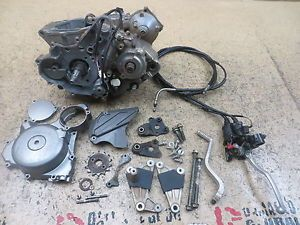 2007 07 Suzuki LTR450 Ltr 450 Engine Motor Bottom End Crank Cases Tranny Clutch