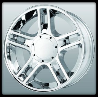 "20"" x 9"" Wheel Replicas V1124 Harley Davidson H D Chrome F150 RAM Wheels Rims"