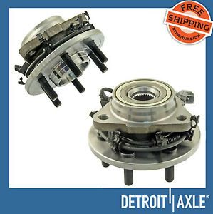 2 New Front 97 04 Dodge Dakota Durango Wheel Hub Bearing Assemblies 4x4 w ABS