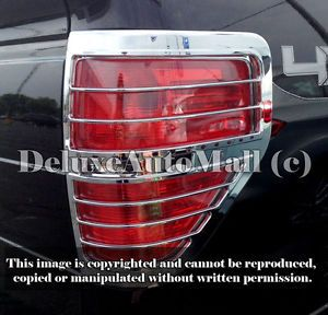 Ford F150 2009 2010 2011 2012 Full Chrome Tail Light Trims Bezels 2 Pieces R L