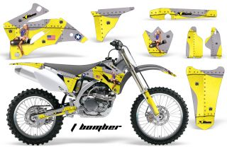 AMR Racing Off Road Dirt Bike Graphic MX Decal Kit Yamaha YZ 250 450 F 06 09 TBY
