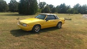 1993 Ford Mustang LX Convertible 2 Door 5 0L Feature Car