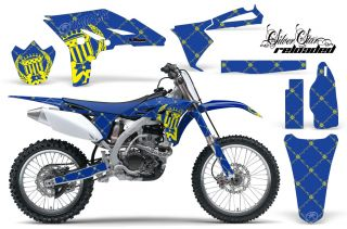 AMR Racing Motocross Off Road Dirt Bike Decal Kit Yamaha YZ 250 F YZF 10 12 Ryu