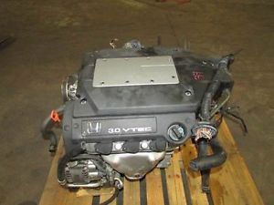 1998 2002 Honda Accord V6 3 0L JDM J30A Coils Type Engine Motor Only